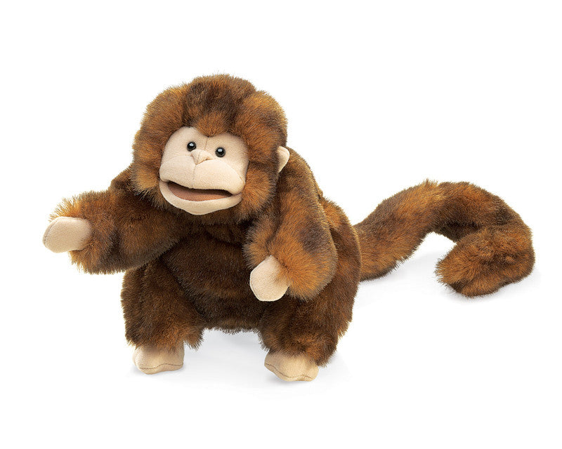 FOLKMANIS HAND PUPPETS Monkey Puppet, Small