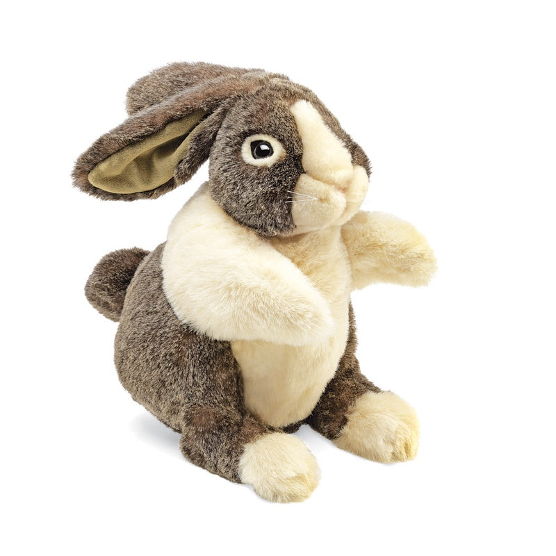 FOLKMANIS HAND PUPPETS Dutch Rabbit Lge