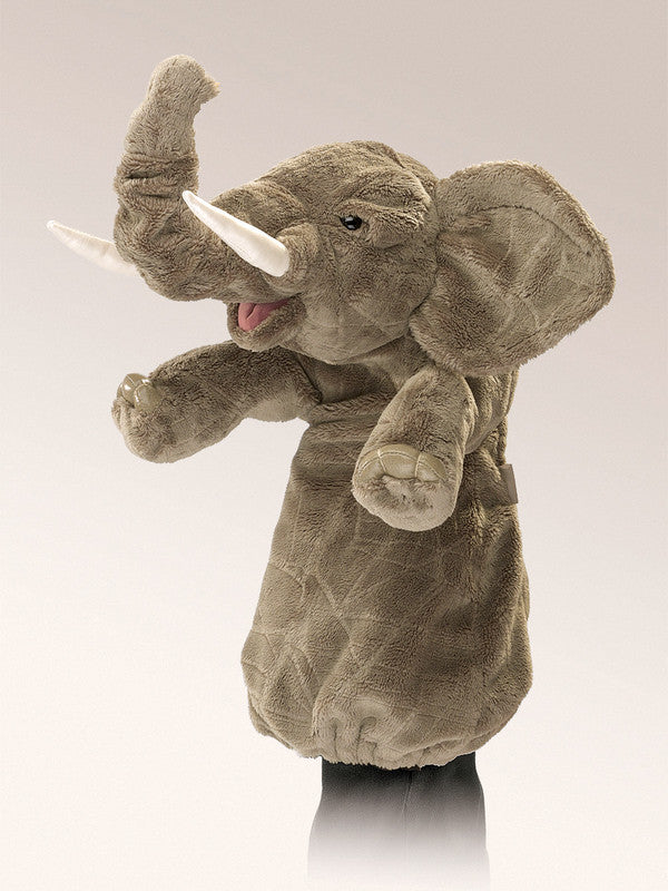 FOLKMANIS HAND PUPPETS Elephant Stage