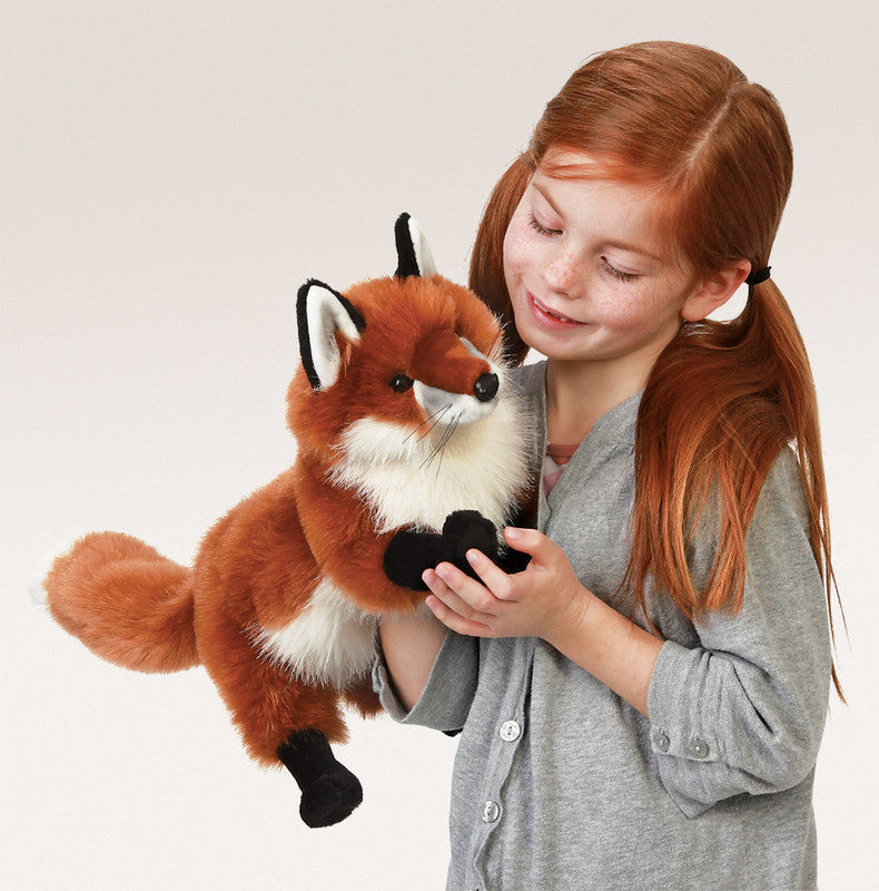 FOLKMANIS HAND PUPPETS Red Fox