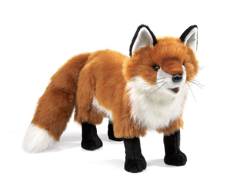 FOLKMANIS HAND PUPPETS Fox, Red Large - 2876
