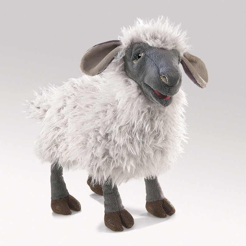 FOLKMANIS Domestic Sheep Bleating Hand Puppet