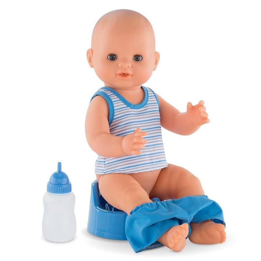 COROLLE – MON CLASSIQUE Drink and Wet Doll Paul 36cm