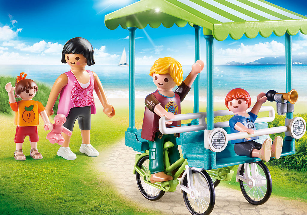 PLAYMOBIL Family Fun - Family Bicycle