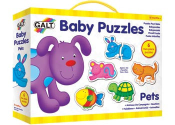 GALT Baby Puzzles Pets