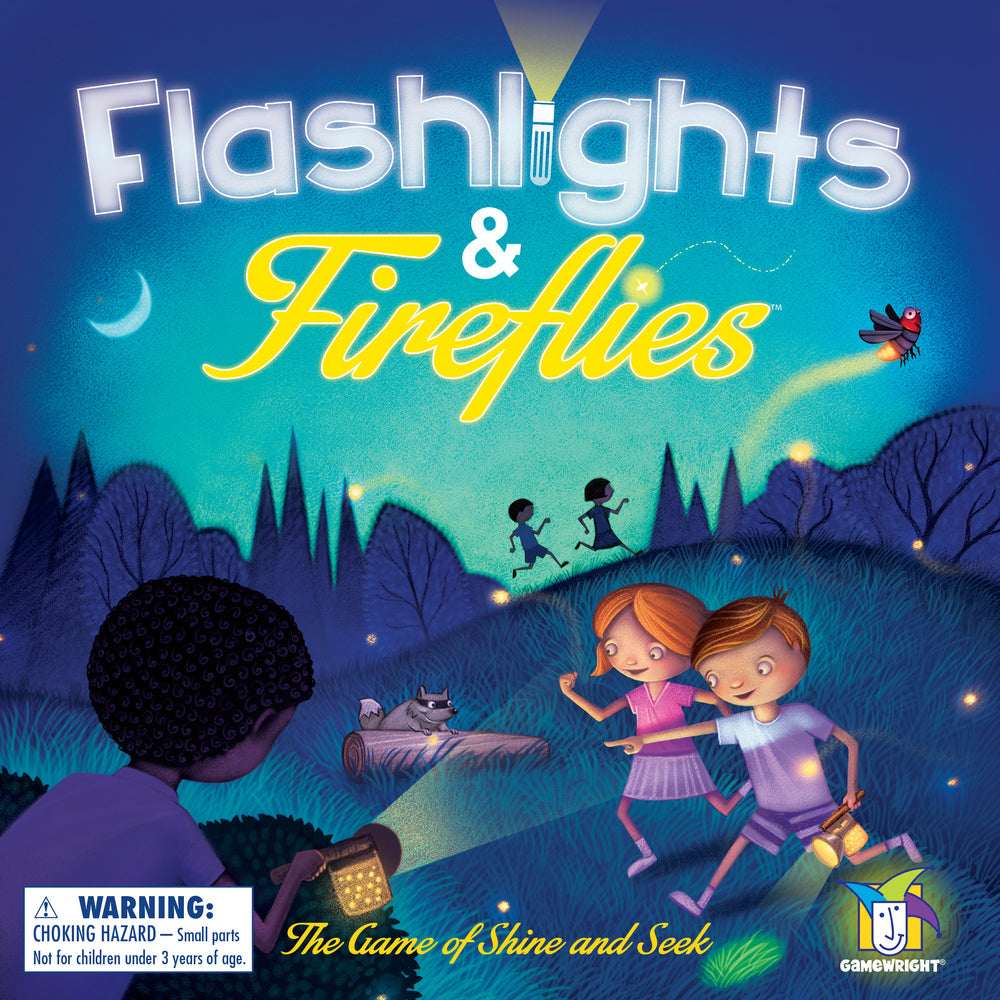 GAMEWRIGHT Flashlights & Fireflies BoardGame