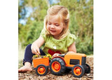 GREEN TOYS Tractor with wagon