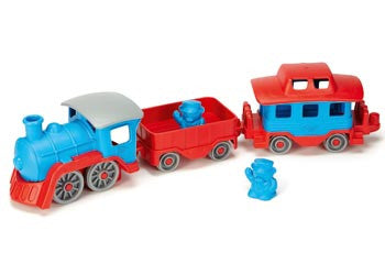 GREEN TOYS Train with carriages