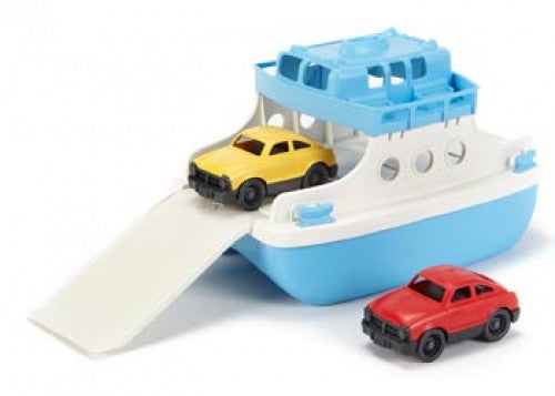 GREEN TOYS Ferry with 2 Mini Cars