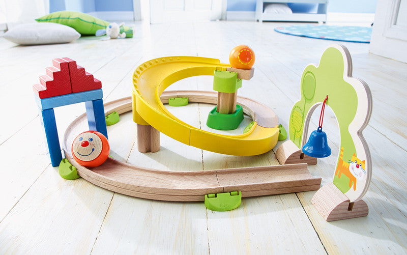 HABA Ball Track - Rollerby Spiral Track - Large Ball Run