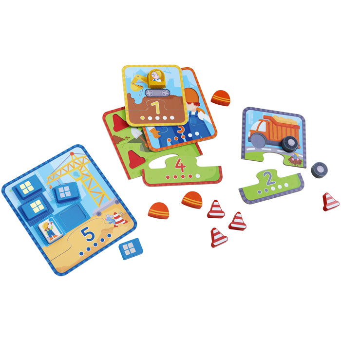 HABA Matching Game Build & Count