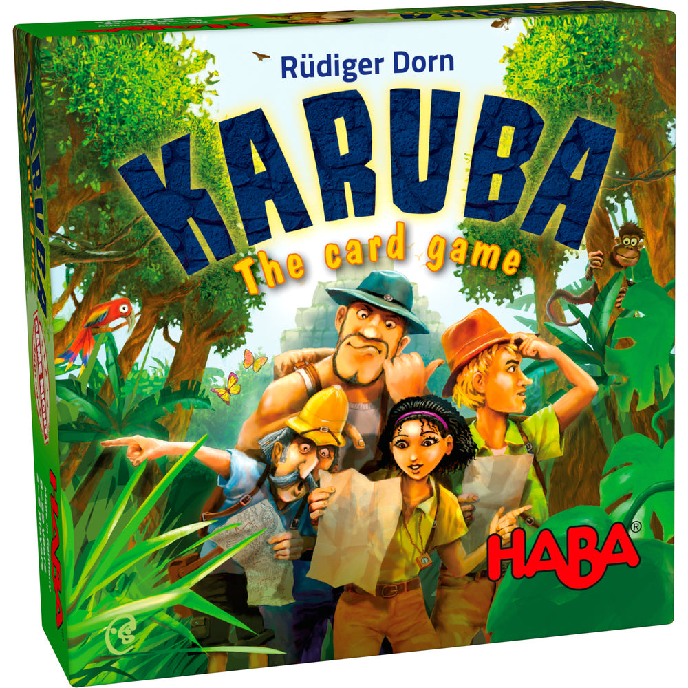 HABA Game - Karuba Card Game - 303589 New