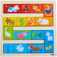 HABA  Arranging Game Animal Parade - 303668