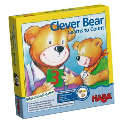 HABA GAME - Clever Bear Learns to Count