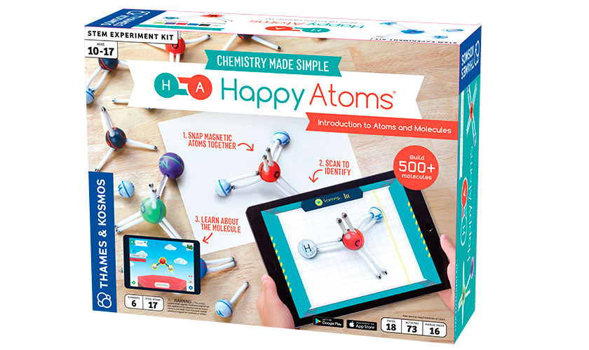 THAMES & KOSMOS Happy Atoms 17 - 585002