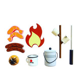 MAKE ME ICONIC - Camp Fire Set - Wooden