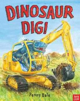 The Dinosaur Dig - Board Book