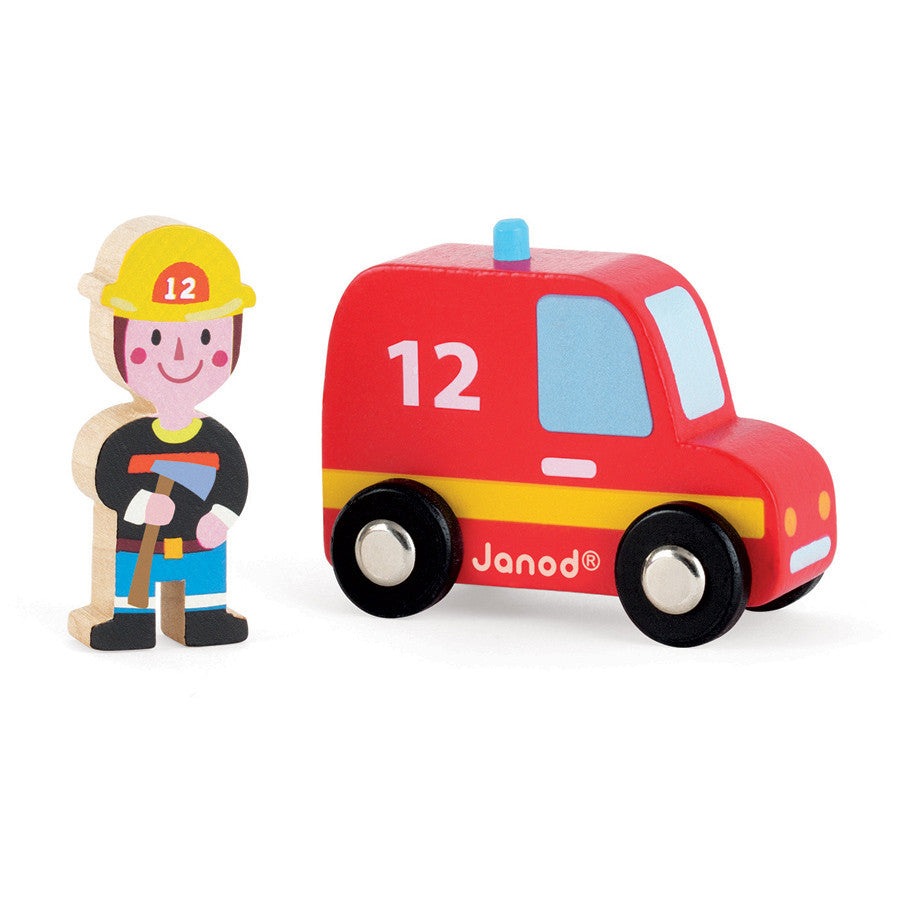 JANOD Firefighter with Car