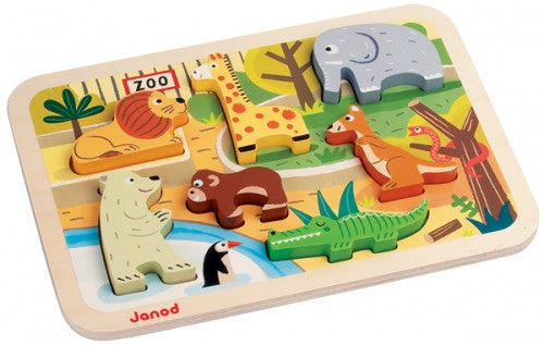 JANOD Puzzle Chunky Zoo