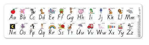 Learning Can Be Fun - Literacy - Alphabet Desk Strips NSW Foundation