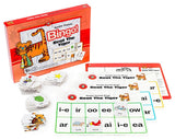 Learning Can Be Fun - Literacy - Beat The Tiger (Double Sounds) Bingo