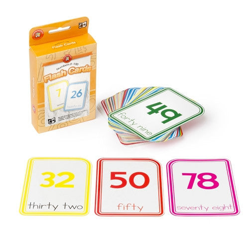 Learning Can Be Fun - Numeracy - Numbers 0-100 Flashcards