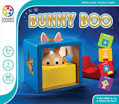SMART GAMES Bunny Peek a Boo - Logical Processing - Single Player
