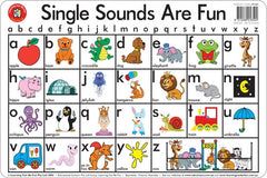 Learning Can Be Fun - Placemats - Single Sounds- Alphabet Placemat