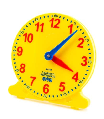 Learning Can Be Fun - Numeracy - Analog Student Clock - Box 6