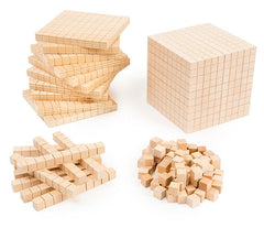 Learning Can Be Fun - Numeracy - Base Ten Set Wooden