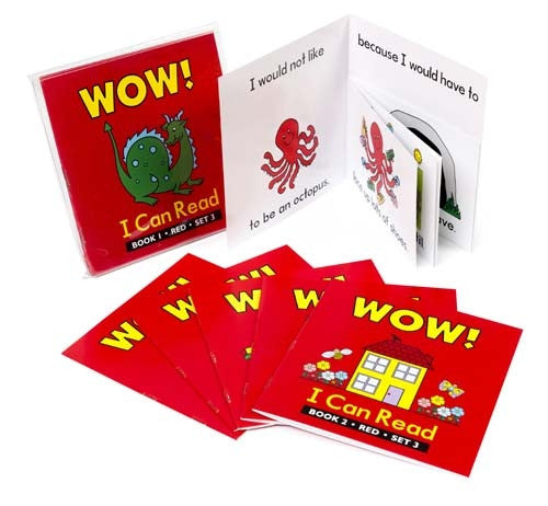 Learning Can Be Fun - Literacy - Wow! I Can Read - Set 3