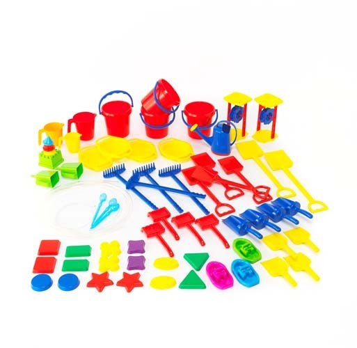 Learning Can Be Fun - Sand & Water ClassroomSet 60pc