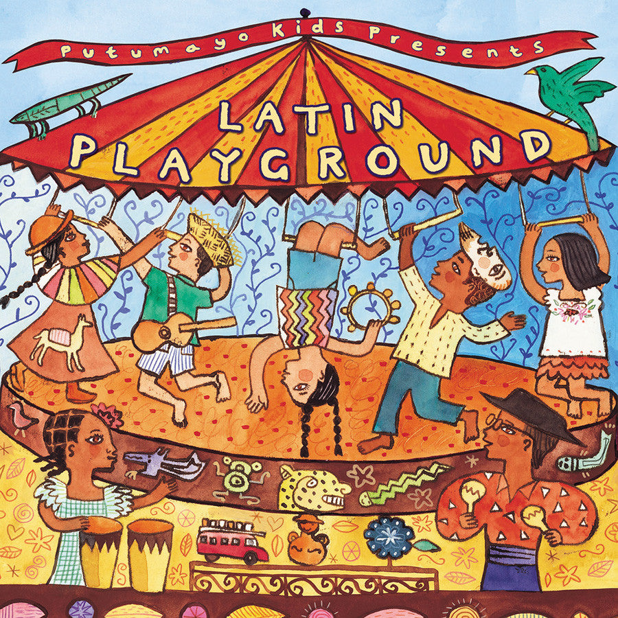 PUTUMAYO MUSIC Latin Playground CD