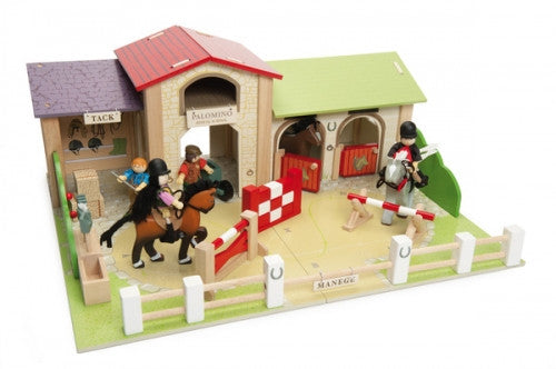 LE TOY VAN Palamino Riding School Playset