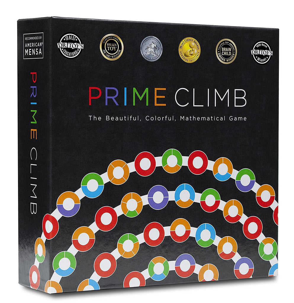 Prime Climb - Board Game - Prime Numbers