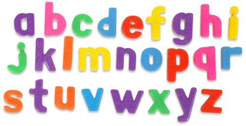 MINILAND Aptitude -  Magnetic Lowercase Letters, 66 pcs