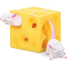 KEYCRAFT - Squeeze Mouse & Cheese Sensory Toy