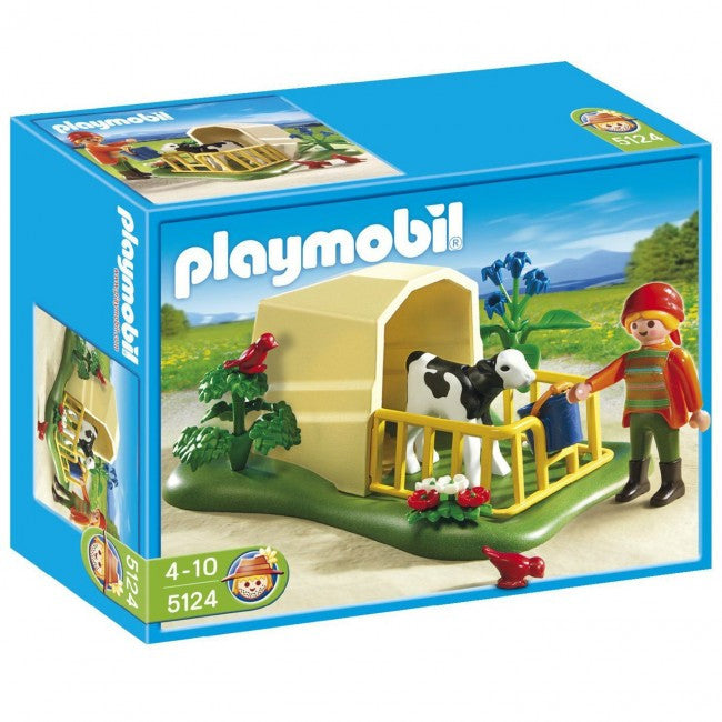 PLAYMOBIL Country Farm Calf Feeder Set 5124