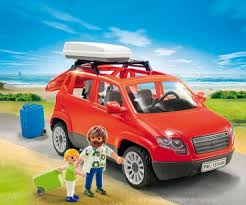 PLAYMOBIL City Life Family SUV Red P5436