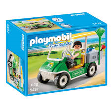 PLAYMOBIL Summer Fun Camp Site Maintenance Kart 5437