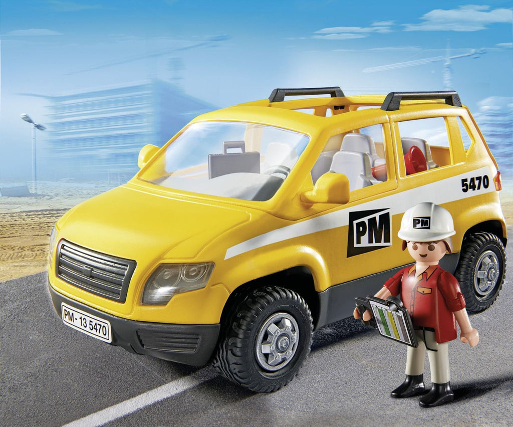 PLAYMOBIL SITE SUPERVISOR'S VEHICLE P5470