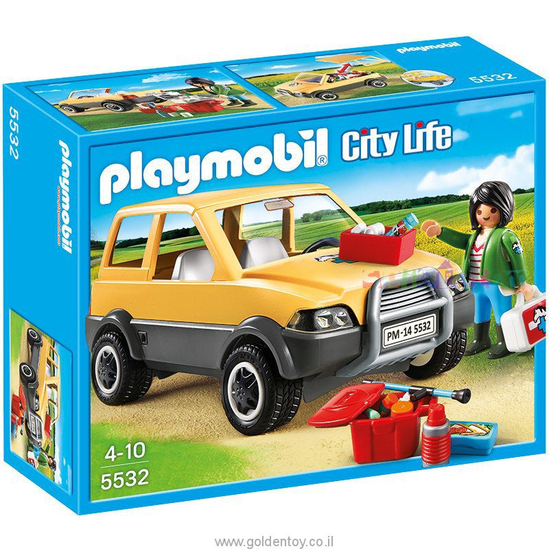 PLAYMOBIL VET WITH CAR P5532