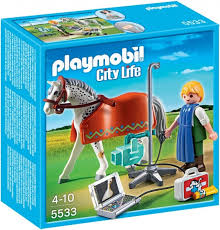 PLAYMOBIL Vet Horse with Xray Technician 5533