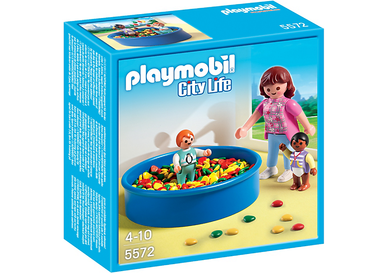 PLAYMOBIL City Life Preschool Children's Ball Pit 5572