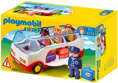 PLAYMOBIL 123 Airport Shuttle Bus 6773