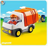 PLAYMOBIL 123 - Recycling Truck -  6774