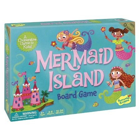 Peaceable Kingdom - Game - Mermaid Island - Co-operative