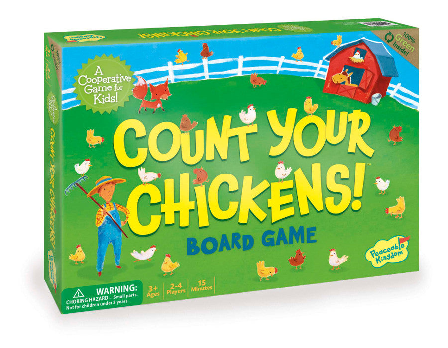 Peaceable Kingdom - Game - Count your chickens - Co-operative