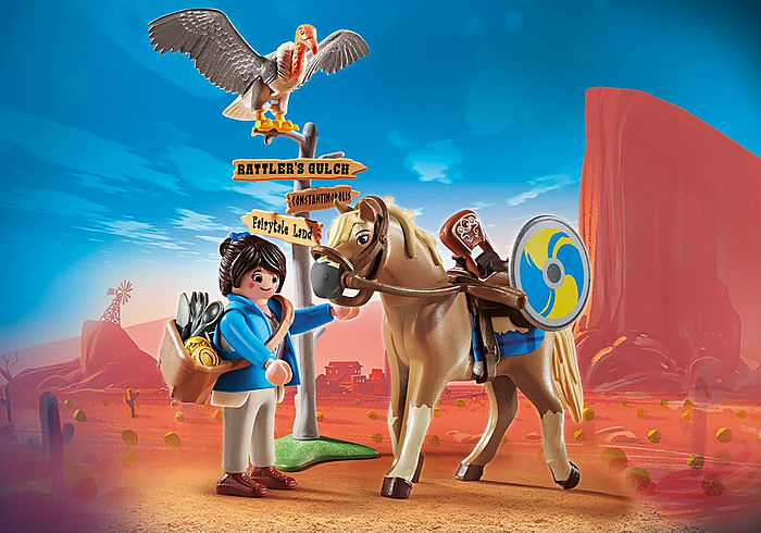 PLAYMOBIL - Playmobil Movie - Marla with Horse  70072