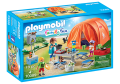 PLAYMOBIL Summer Fun - Family Camping Trip - 70089